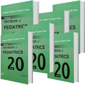 Nelson Textbook of Pediatrics2015 (6 vol) جلدشومیز