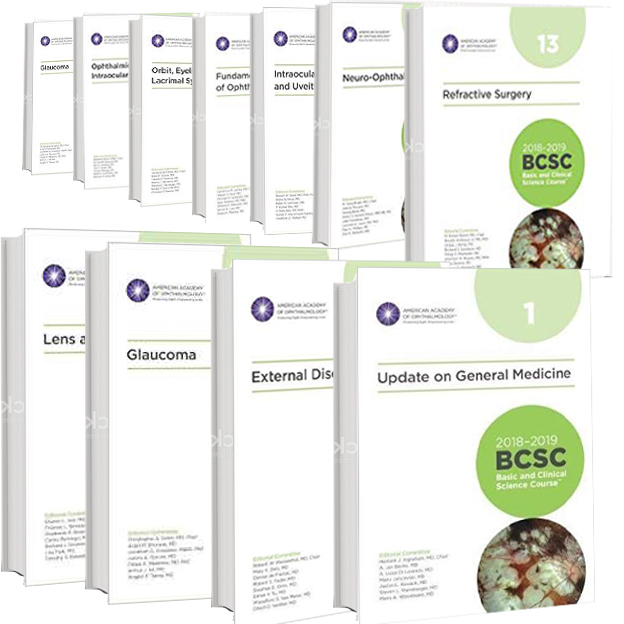 2018-2019 -BCSC (Basic and Clinical Science Course)-14 vol